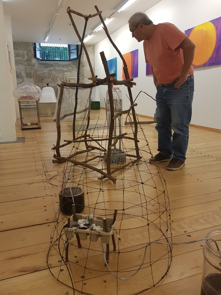 Sen In Ausstellung